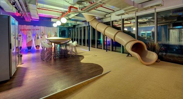 escritórios inspiradores google israel