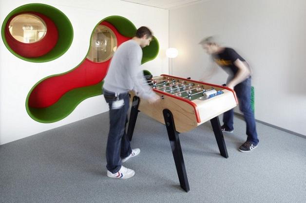 escritórios inspiradores lego jogos