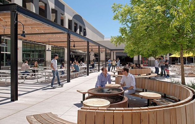 facebook espaço exterior escritórios inspiradores