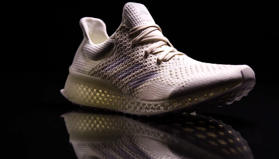 impressão 3D Adidas sapatilhas