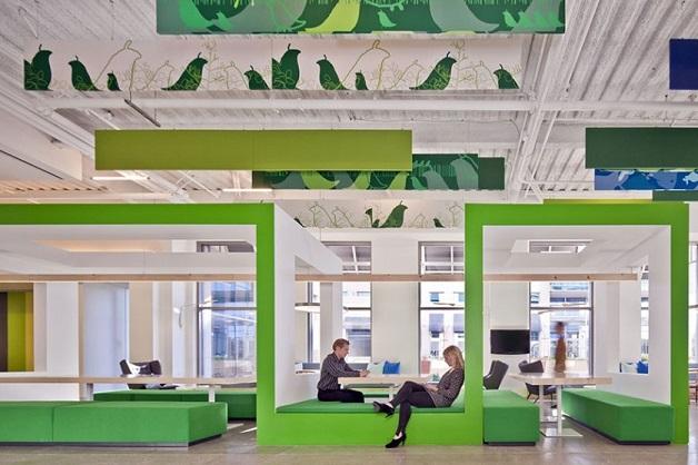 nokia escritórios inspiradores