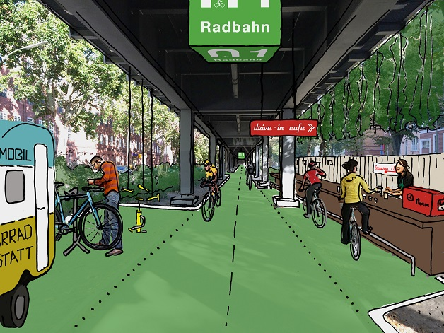 radbahn bicicletas berlim