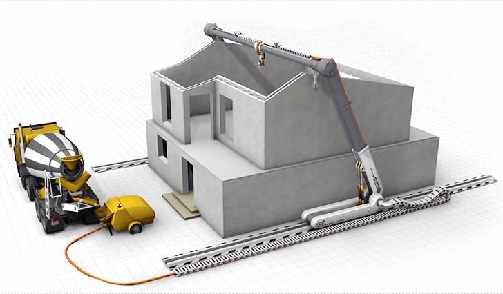 Contour Crafting Impressão 3D habitações
