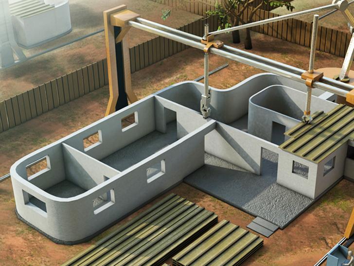 Impressora 3D construção civil