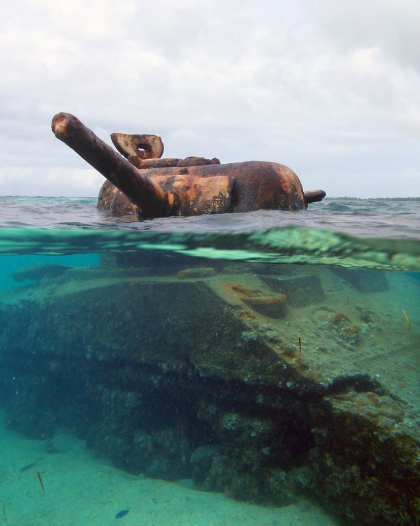 Tanque ilhas mariana espanha