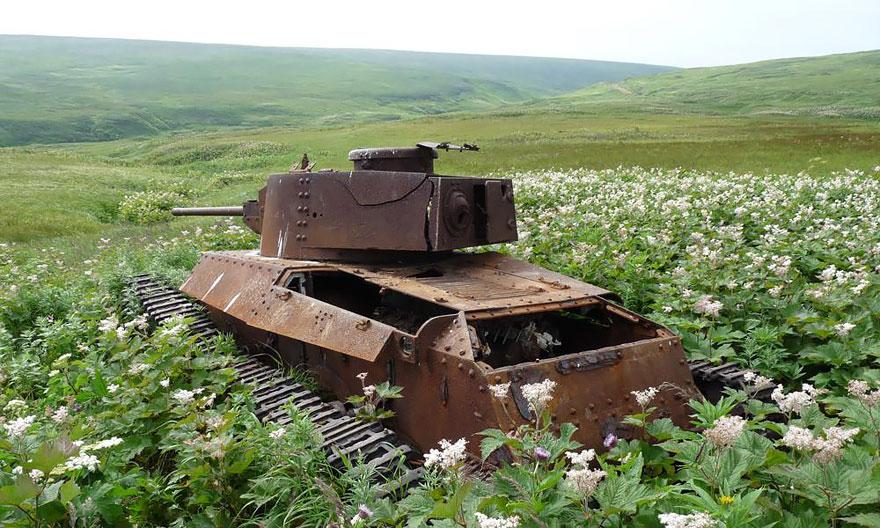 Tanques de guerra rússia