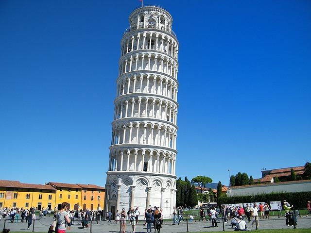 Torre de Pisa explicação