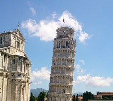 Torre de Pisa inclinação