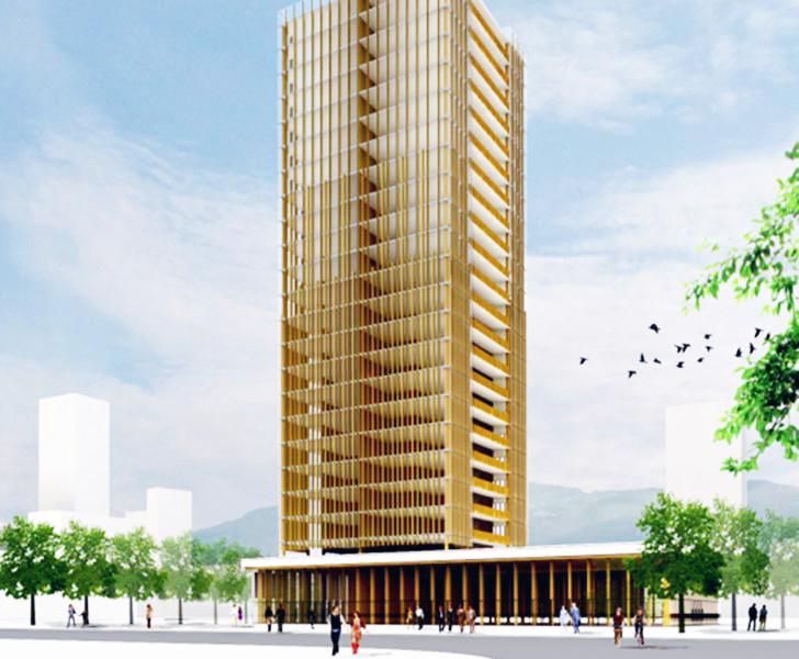 construção com madeira Michael Green