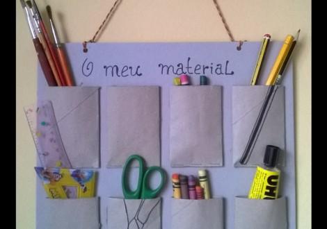 organizador de material escolar