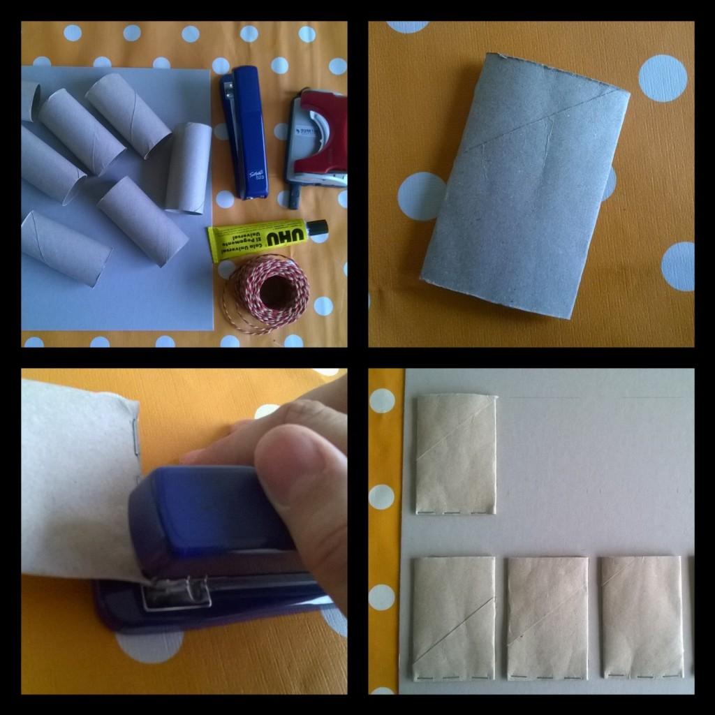 organizador rolos de papel higiénico reutilizar