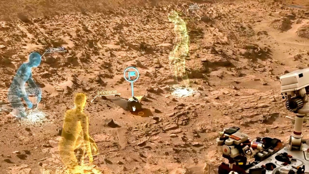 NASA Marte realidade virtual