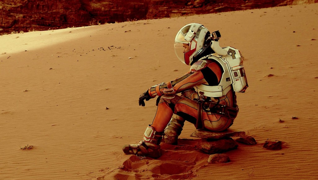 The Martian Matt Damon marte