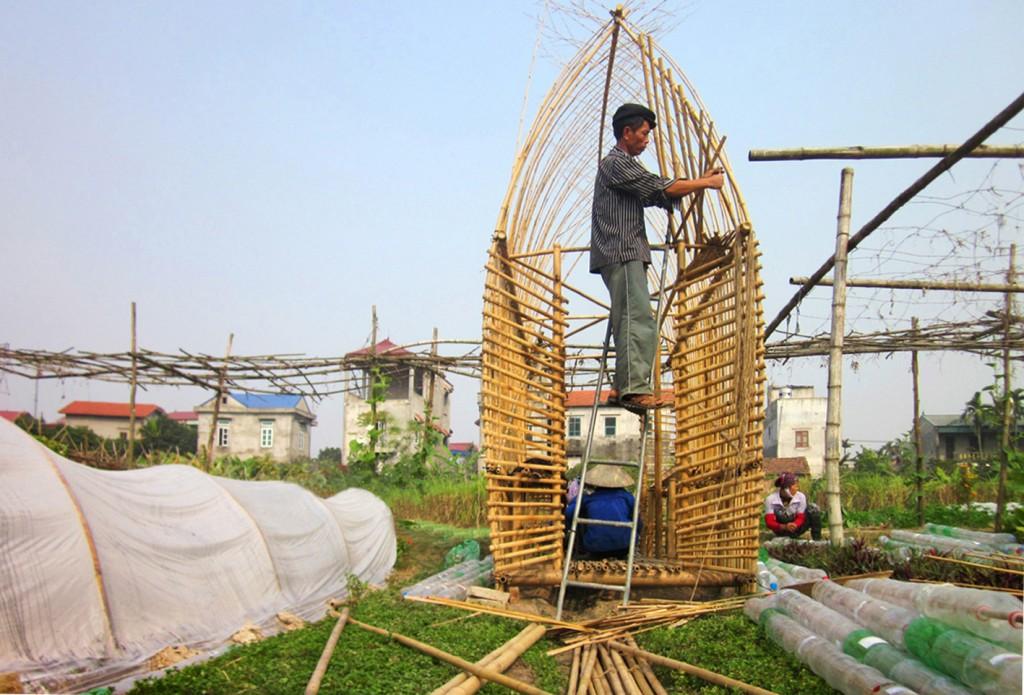 estufa horta urbana vietnam