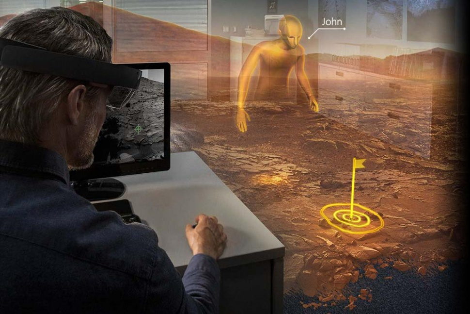 microsoft hololens realidade virtual