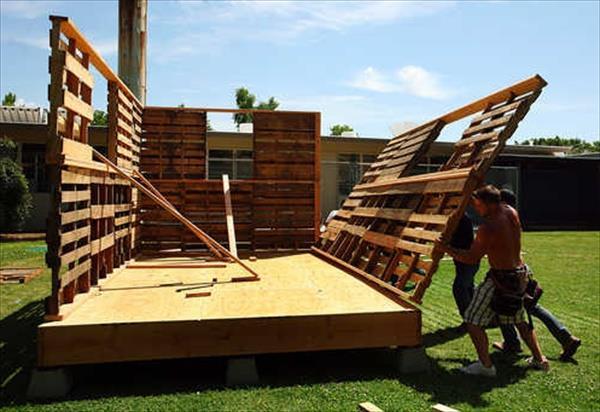 paletes de madeira casa