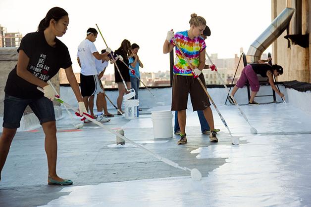 telhados brancos eficiencia energetica