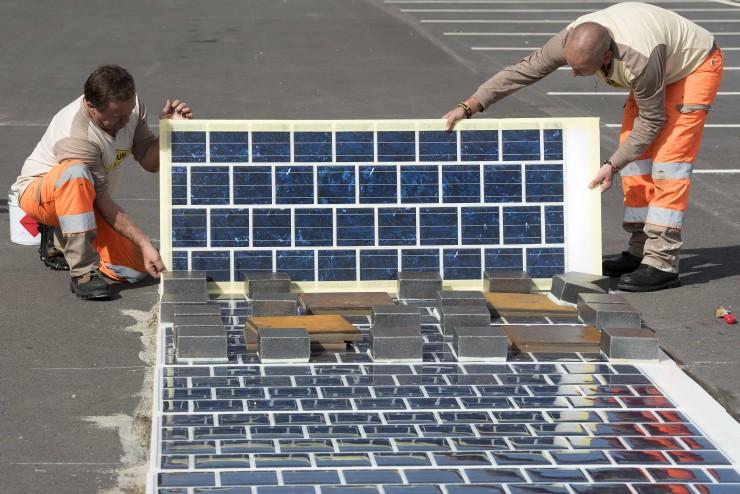 Wattway Estradas energia solar