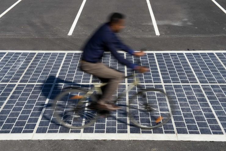 Wattway estrada solar