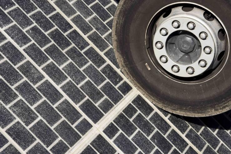 Wattway frança estrada energia solar
