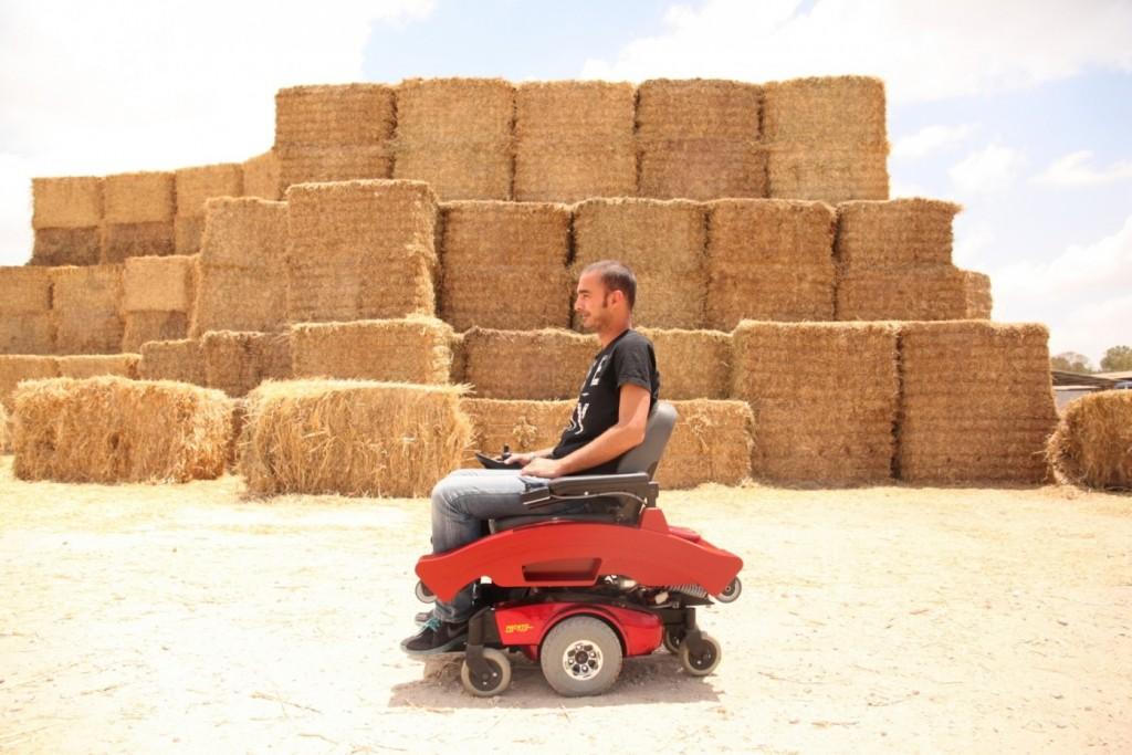 cadeira de rodas elétrica step up