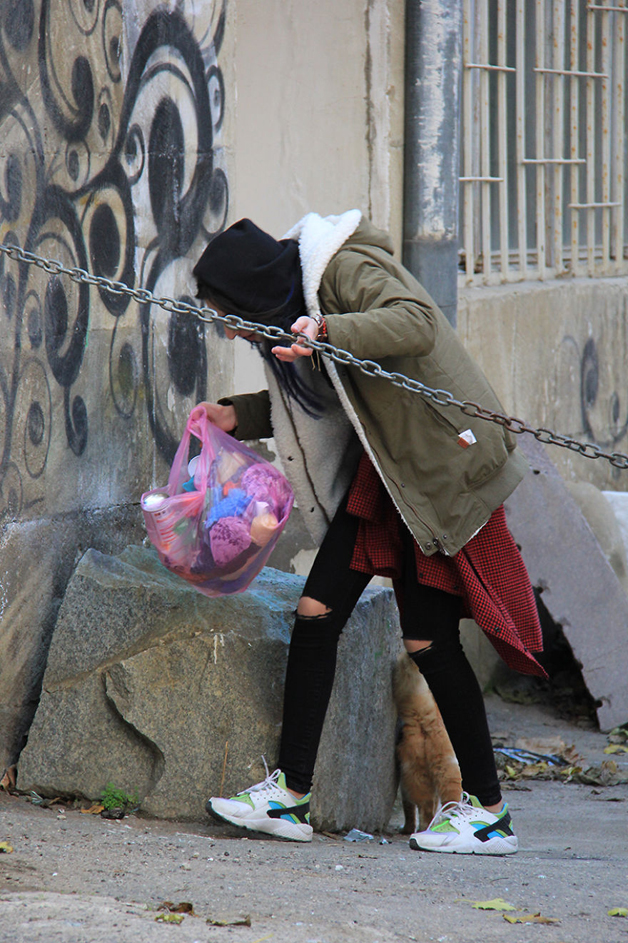 nasrin musayeva artista de rua