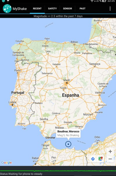 sismos península ibérica