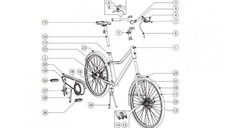 """""""Sladda"""" a bicicleta que se monta em casa"""