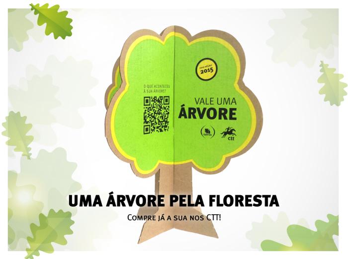 Uma árvore pela floresta