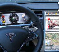 Segurar um Tesla