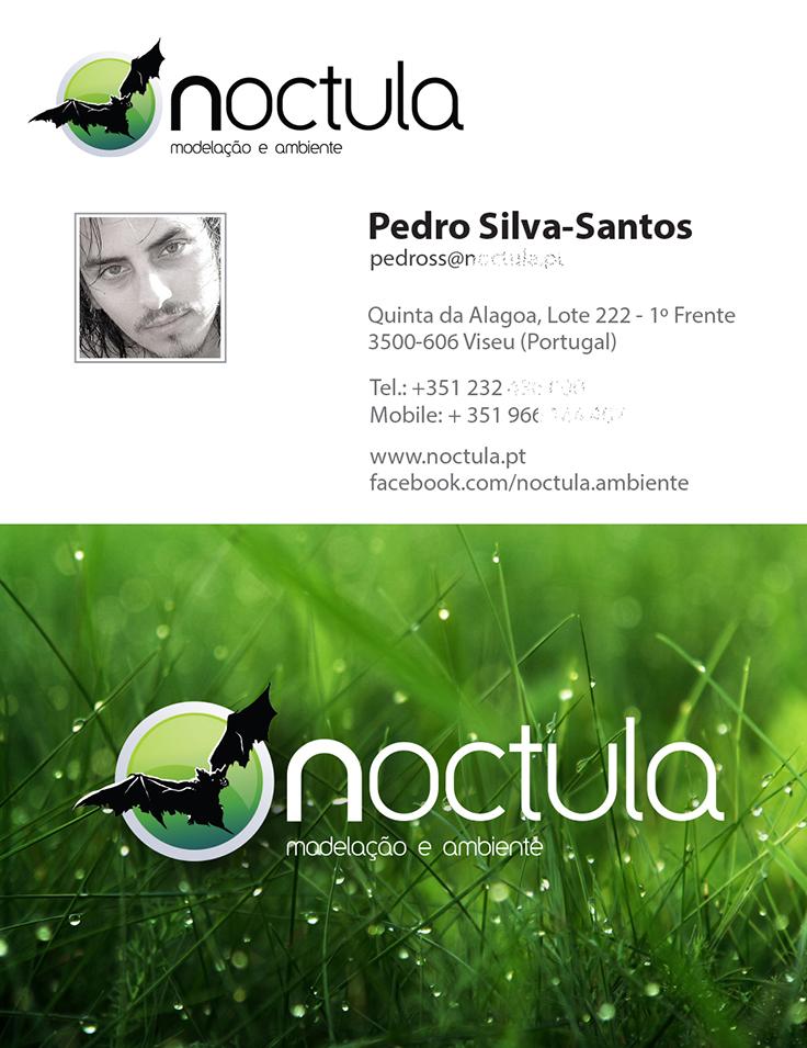 o primeiro cartão pessoal Pedro Silva-Santos