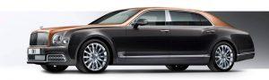 Bentley Mulsanne Extended WheelBase - terceiro carro com seguro automóvel mais caro