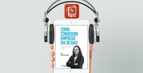 audiolivro Como conseguir emprego em 30 dias - destaque